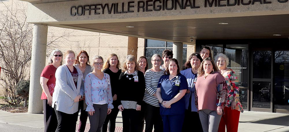 Team members at Coffeyville Regional Medical Center.