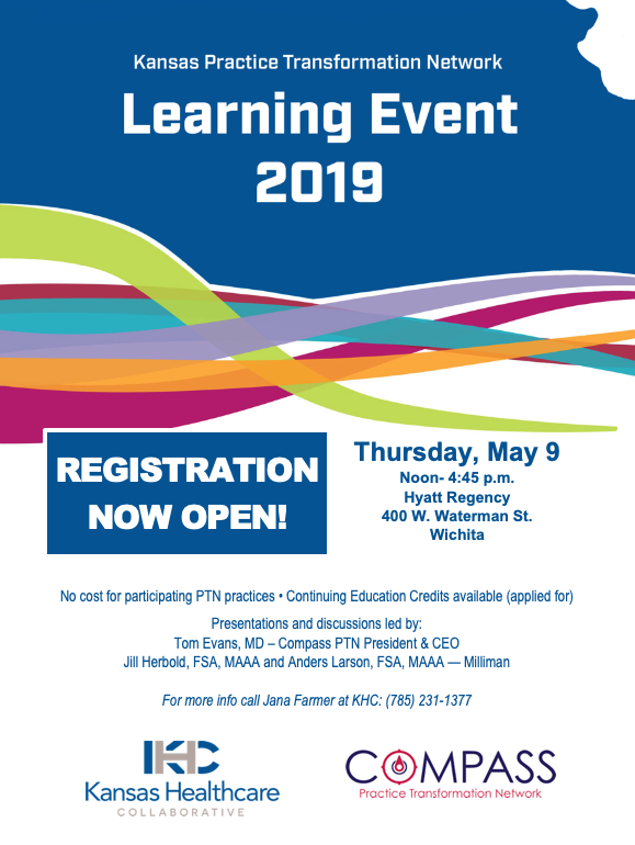 Save the Date! PTN Learning Event - May 9 in Wichita