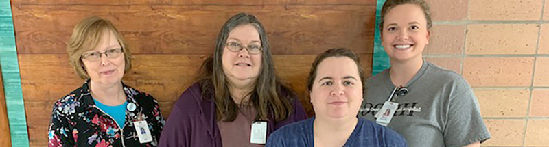 Osborne County Memorial Hospital team members